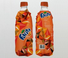 Proposed Redesign of the bottle of Fanta for the British Contest Starpack