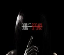 'DON'T SPEAK' MOVIE POSTER