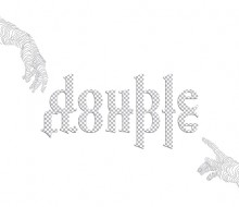 ALBERT BONAY'S DOUBLE TROUBLE EXHIBITION POSTER