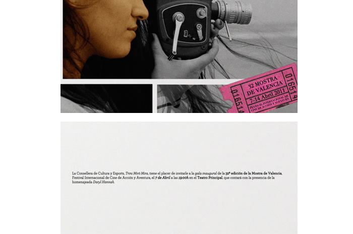 "Proposed Poster for the Valencian Film Festival ""La Mostra"""