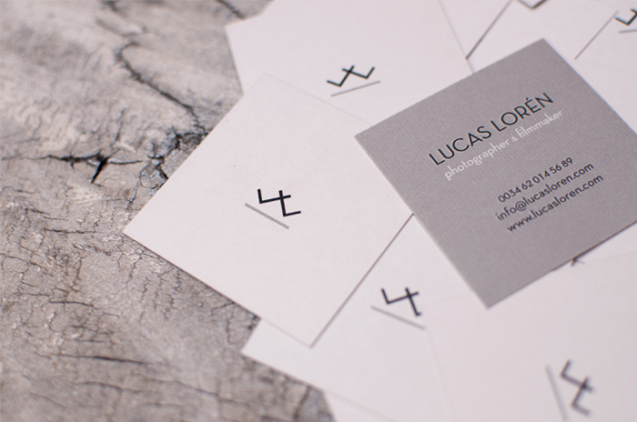 LUCAS LORÉN'S IDENTITY AND STATIONERY